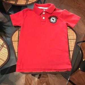 A&F kids polo shirt size 5/6